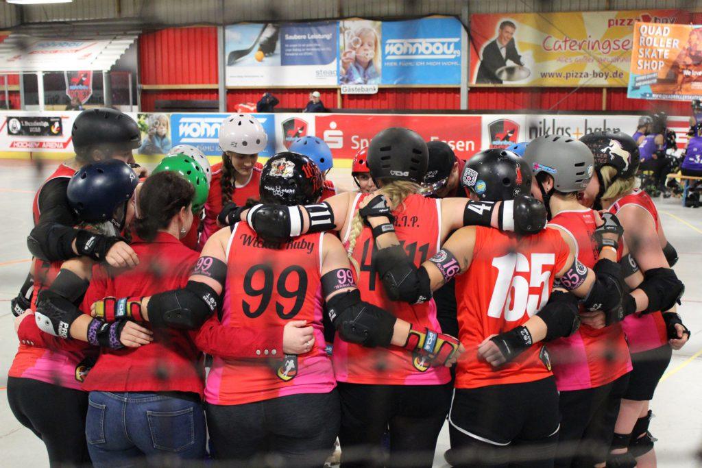 Teamfoto Ruhrpott Rollergirls